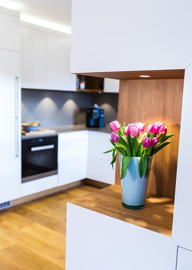 Neue Wohnküche mit Raumteiler in Michelstadt Bild 3