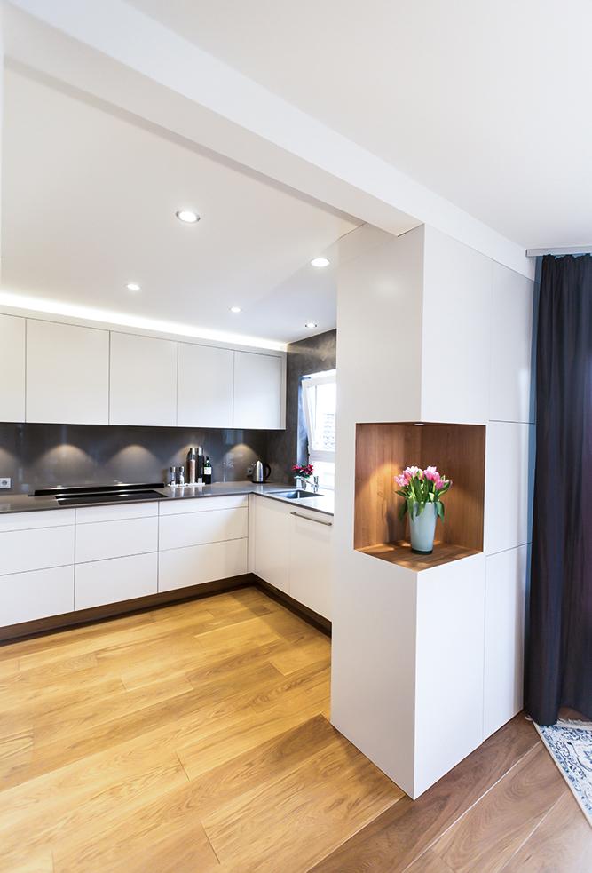 Neue Wohnküche mit Raumteiler in Michelstadt Bild 2